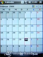 LG Electronics KS20: Kalender