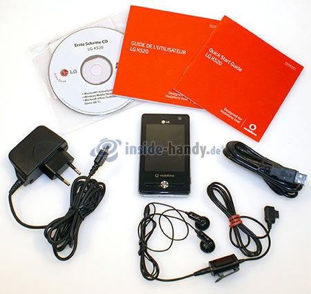 LG Electronics KS20: Lieferumfang