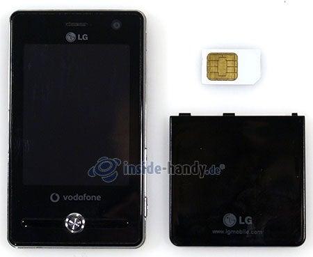 LG Electronics KS20: offenes Gerät vorne