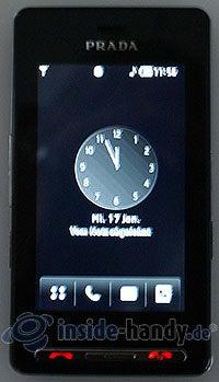 LG Electronics Prada Phone: Display