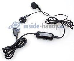 LG Electronics Prada Phone: Headset