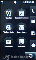 LG Electronics Prada Phone: Menü
