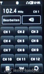 LG Electronics Prada Phone: Radio