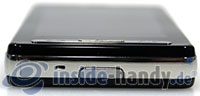 LG Electronics Prada Phone: seite unten