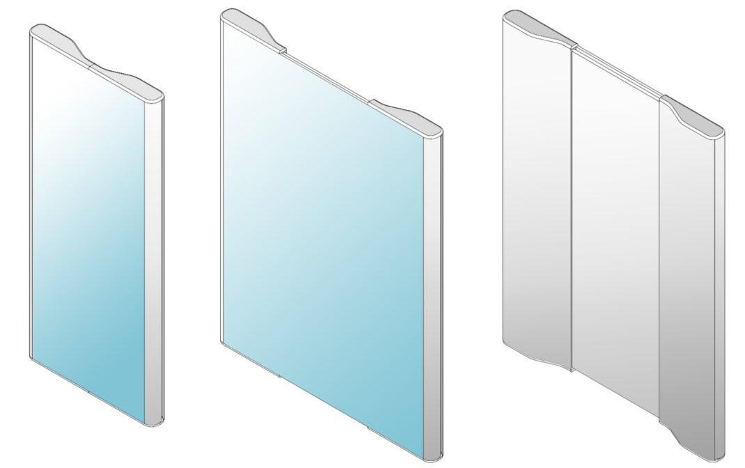LG-Patent eines rollbaren Smartphones