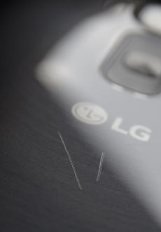 LG G Flex 2: Kratzer