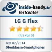 LG G Flex: Testsiegel