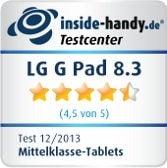 LG G Pad 8.3 Testiegel