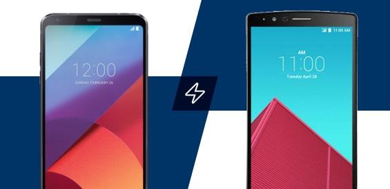 LG G4 und LG G6 im Vergleich