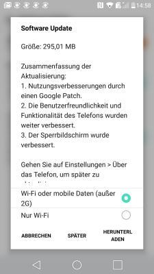 LG G5 Firmware-Update