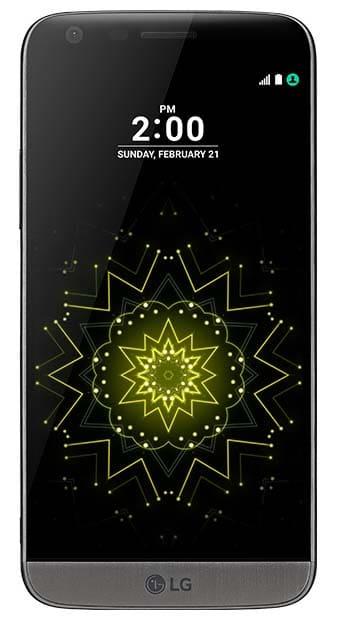 LG G5 SE: Front