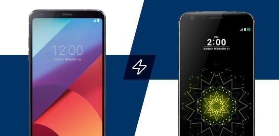 Vergleich: LG G6 und LG G5