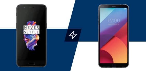 LG G6 und OnePlus 5 Vergleich
