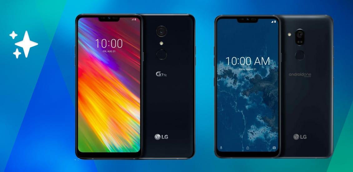 LG G7 Fit und LG G7 One