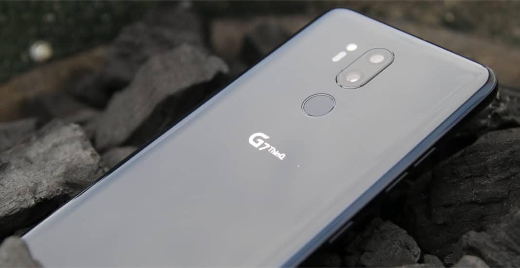 LG G7 ThinQ Titelbild richtig