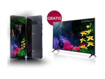 LG G8s kaufen - mit Gratis-Fernseher