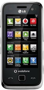 LG GM750 Datenblatt - Foto des LG GM750