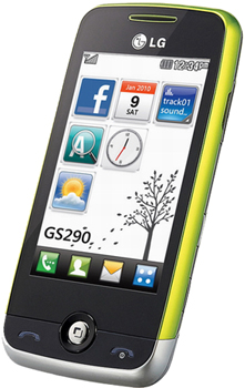 LG GS290 Cookie Fresh Datenblatt - Foto des LG GS290 Cookie Fresh