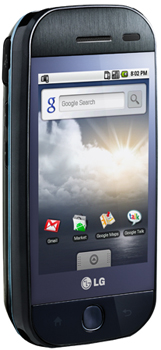 LG GW620 Datenblatt - Foto des LG GW620