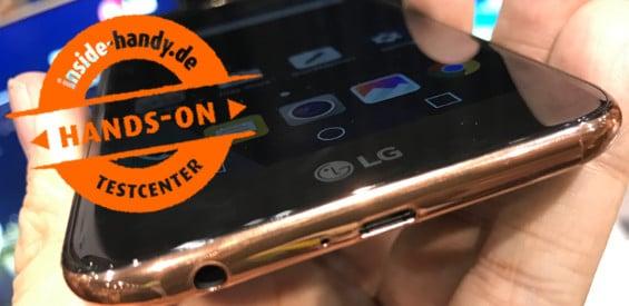LG K10 (2017) Hands-On
