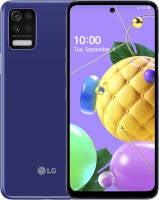 LG K52 Vorderseite und Rückseite