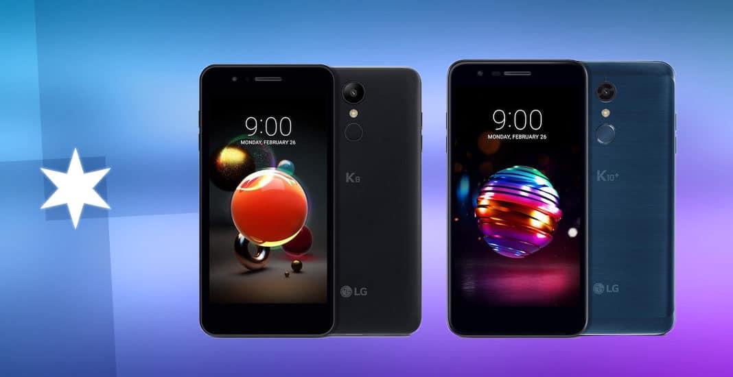 LG K8 und K10