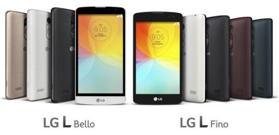 LG L Bello und L Fino