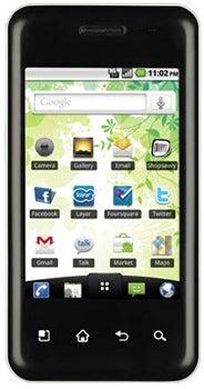 LG Optimus Chic Datenblatt - Foto des LG Optimus Chic