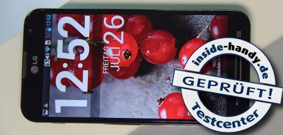 LG Optimus G Pro im Test