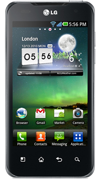LG Optimus Speed Datenblatt - Foto des LG Optimus Speed