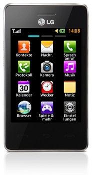 LG T385 Datenblatt - Foto des LG T385