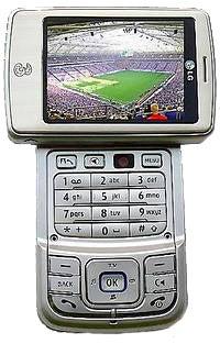 LG U900 Datenblatt - Foto des LG U900