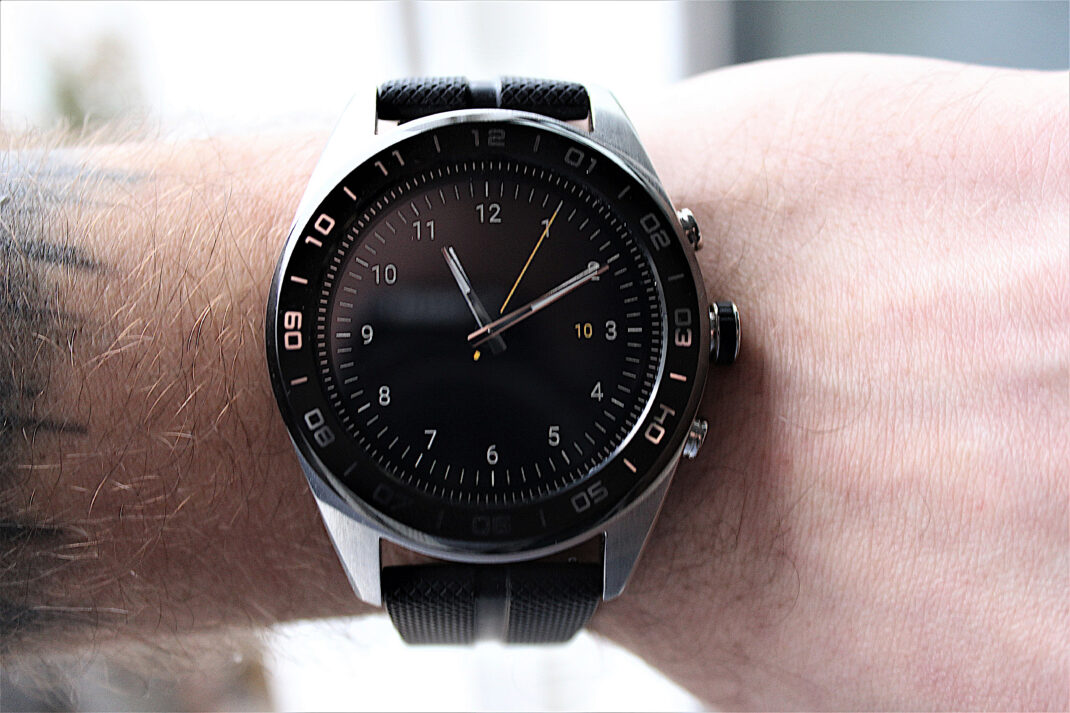 LG Watch W7: Heruntergeladenes Watch Face