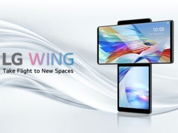 Smartphone: LG Wing