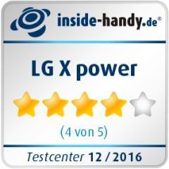 LG X power Testsiegel