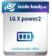 LG X power2 im Test: Ausdauernder Akku