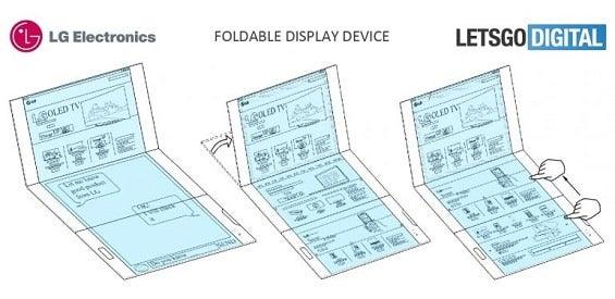 LG-Patent: Faltbares Smartphone