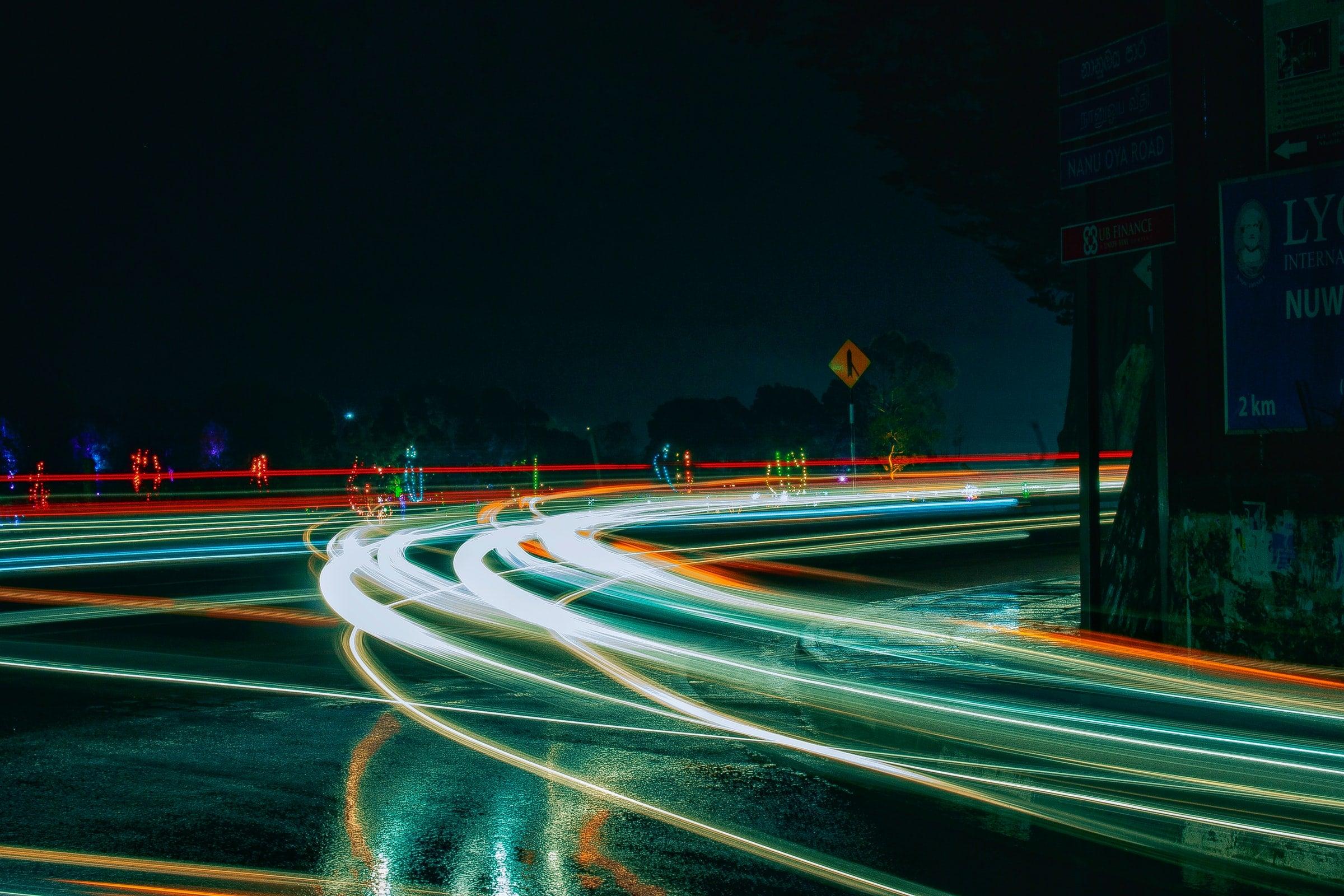 Langzeitbelichtung: Lichtzieher