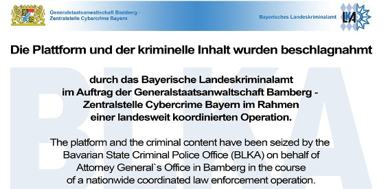 LKA Bayern nimmt mystreamz.cc offline