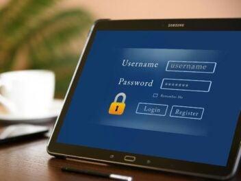 Passwort Symbolfoto