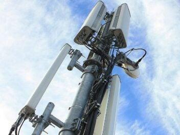 Ein LTE-Sendemast