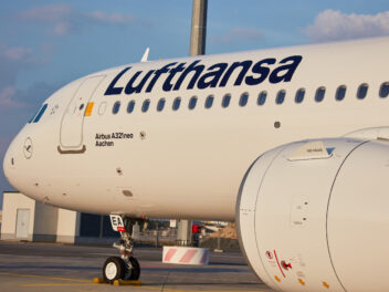 Airbus A321 von Lufthansa