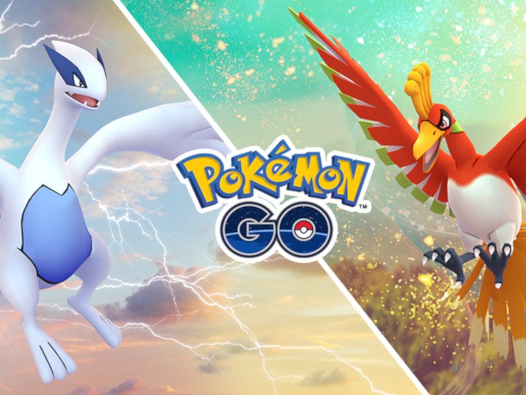 Lugia und Ho-Oh in Pokémon Go