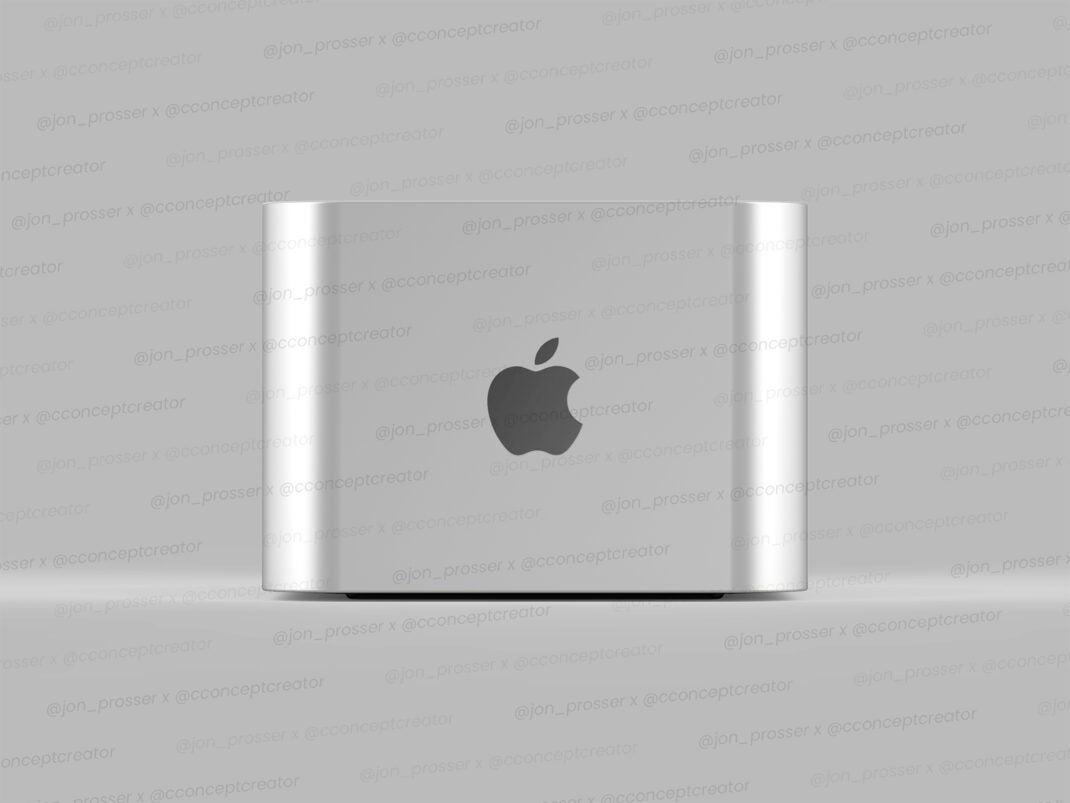 Renderbild des angeblichen Mac Pro