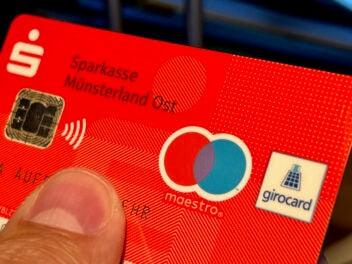 EC-Karte Girocard mit Maestro Funktion