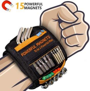 Das perfekte Geschenk für Männer und Heimwerker: Magnetisches Armband