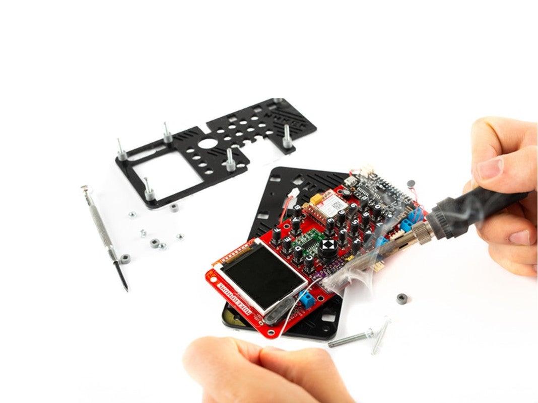 Makerphone während des Zusammenbau