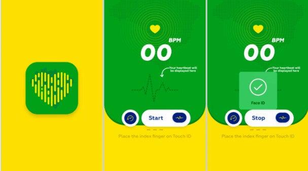 App Herzfrequenzmesser Screenshot