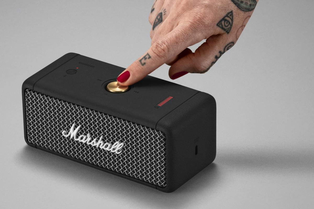 Marshall Emberton Bluetooth-Lautsprecher Bedienung
