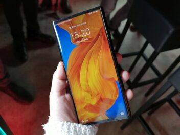 Das geschlossene Huawei Mate Xs